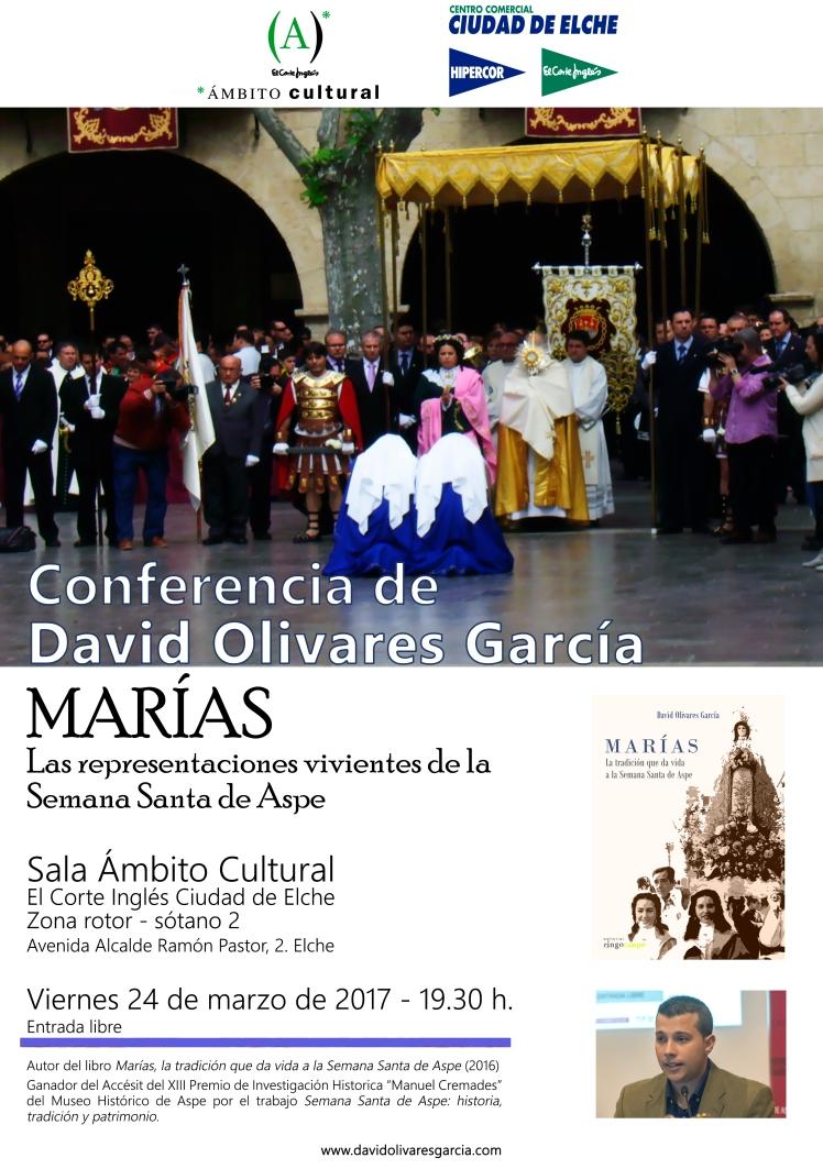 Conferencia en Elche: Las representaciones vivientes de Aspe. Cartel-conferencia-marias1